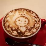 イクジーノ カフェ - 2016年11月再訪:ラテ・モンブラン☆