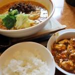 59276458 - 担々麺とご飯セット