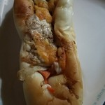 ヴィ・ド・フランス - ゴボウがメインの具材豊富なパン(H28.11.8撮影)