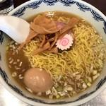 むらもと - 【ラーメン+煮卵…900円+80円】◎2016/11