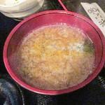 喜DoI楽 - 味噌汁