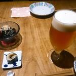 59279455 - ビール そば寿司