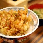 まん福 - かき揚丼