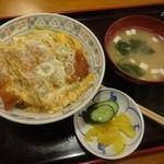 松美家 - かつ丼