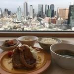 グリーンズカフェ - 豚生姜焼き