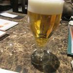 蘭蘭酒家 - 生ビール