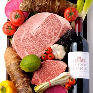 ◆焼肉×ワイン!厳選したワインとのマリアージュ♪
