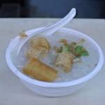 台湾風粥専門店 阿里 - 豚粥 ¥280