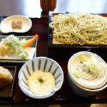 蕎麦貴石 - 昼蕎麦セット