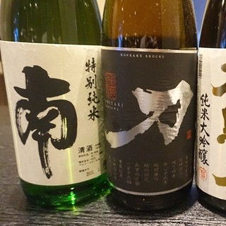 【ちゃがちゃがのこだわり②】必飲!厳選された日本酒・焼酎
