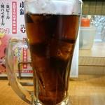 えき亭 - セットのコーラ(ジョッキです)