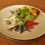 バルマーネ - 前菜の盛り合わせ