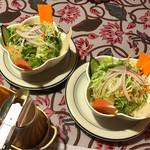 パリワール - セットのサラダ