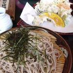 報徳庵 - 天ぷらとせいろ蕎麦