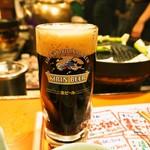 さっぽろジンギスカン - 黒ビール