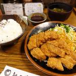 とんかつ 比呂野 - ヒレカツ定食☆