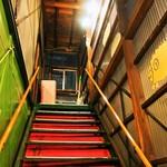 さっぽろジンギスカン - 階段を上がって2Fへ