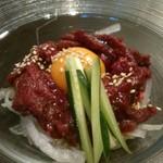 59301949 - 桜肉のユッケ