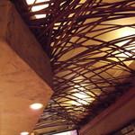 カレーうどん あげは。 - 天井の装飾