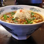 五十番 - 「麻婆きのこ担々麺」900円(横)