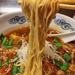 五十番 - 「麻婆きのこ担々麺」900円(麺)
