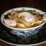 東山茶屋 - 料理写真:肉うどん 500円