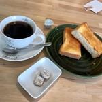 Teacafe Colour - ホットブレンド、トースト(バター)