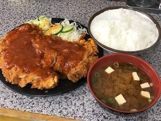 ハイライト - ジャンボチキンカツ定食630円(税込)