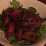 パレット - 赤カブのマリネ 梅肉バルサミコ