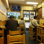 三忠食堂 - 店内 テーブル