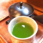 月光 - そば緑茶
