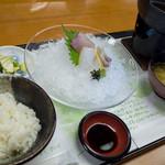 汐湯 凪の音 - 大満足のお膳ランチになりました。