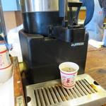 パン パティ こむぎのおはなし - コーヒーサービスあります。