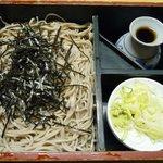 ミタカ庵 - 料理写真:箱そば(2010/12/01撮影)