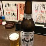 59310122 - 大瓶ビール(アサヒスーパードライ)380円(税込)