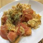 めんじい - トマト玉子炒め