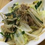 めんじい - 野菜炒め