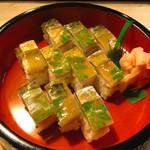 59311961 - 鯖寿司(ハーフ)
