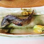 59312084 - 岩魚の塩焼き!!ヾ(≧▽≦)ノ