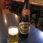 うえ村 - やはりビールで1杯!