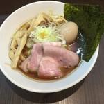 麺屋りゅう - 淡麗煮干しそば + 味玉