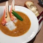 59316741 - 濃厚な蟹のスープ?