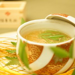 59317451 - 温物 (蟹と隠元の茶碗蒸し 餡掛け 柚子)