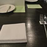 アキヒサ ハンダ - 2016年11月26日 テーブルセット
