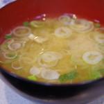 君乃家食堂 - 味噌汁