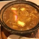 59326656 - 「玉子入カレーきし麺」1,080円