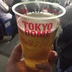 東京ドーム売店 - 生ビール