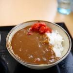 たかべん食堂 - ミニカレー 200円