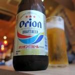 沖縄大衆酒場 島人 - オリオンビール