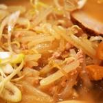 糸末 - 味噌ラーメン(もやし&挽肉)